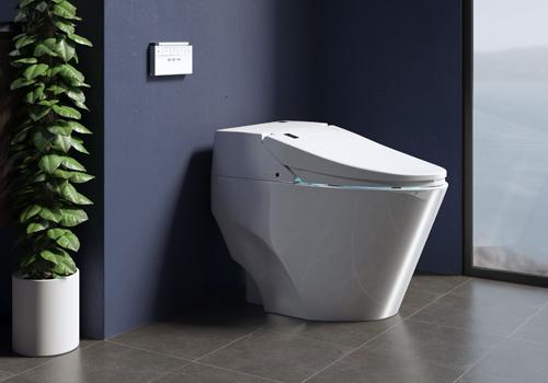 Throne Toilet Systems Tankless Bidet Smart Toilet